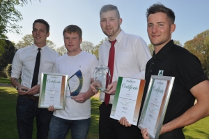 CORP270 - A-Plant awards winners Daniel Pritchard, Jake Ridly, Alan Cage...